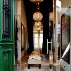 Casale Panayiotis Library Lounge