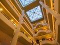 Mediterranean Beach Hotel : the atrium